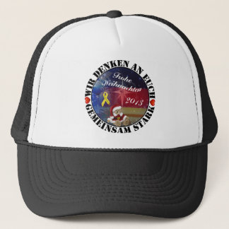 Strong… we think together of you trucker hat