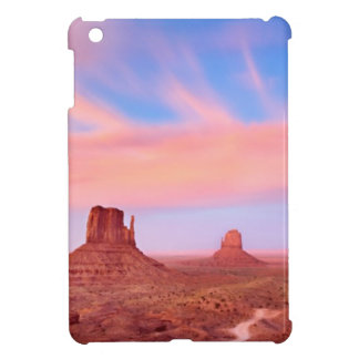 Strong Winds over Desert Valley Cover For The iPad Mini