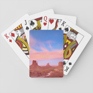 Strong Winds over Desert Valley Deck Of Cards