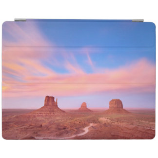 Strong Winds over Desert Valley iPad Cover