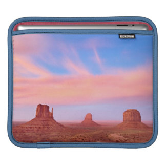 Strong Winds over Desert Valley iPad Sleeve