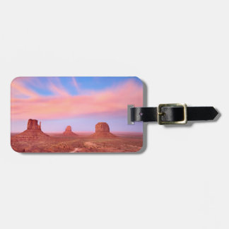 Strong Winds over Desert Valley Tag For Luggage