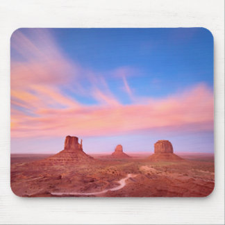 Strong Winds over Desert Valley Mouse Pad