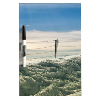Strong winter dry erase board