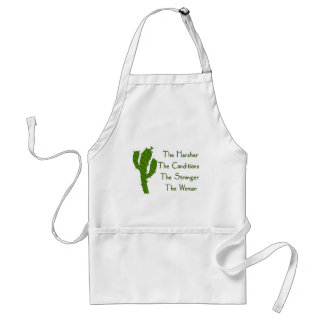 Strong Woman Adult Apron