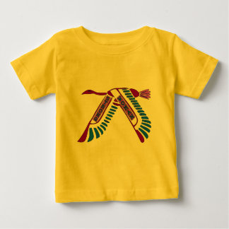 Strong Woman Flying Baby T-Shirt