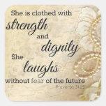 Strong Woman Sticker