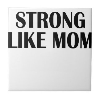 strong woman tile
