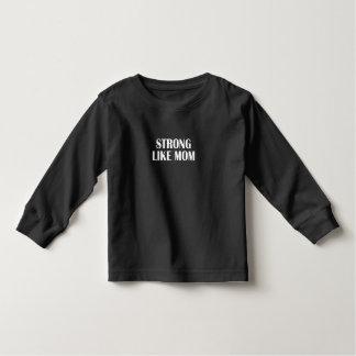strong woman toddler t-shirt
