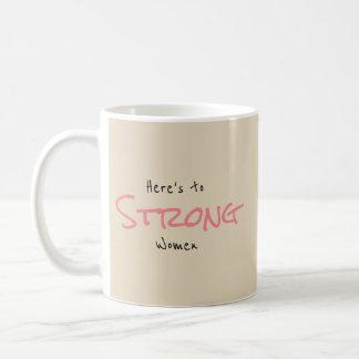 Strong Women Coffee Mug