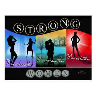 Strong Women Items Postcards