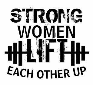 Women\'s Powerful Quotes Anvil Clothing & Apparel | Zazzle