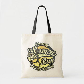 Strong Women Run in our Family Tote Bag