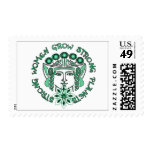 Strong Women Strong Planet Stamp