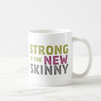 Stronge es el nuevo flaco - bosquejo taza de café