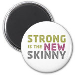Stronge is the New Skinny - Sketch 2 Inch Round Magnet