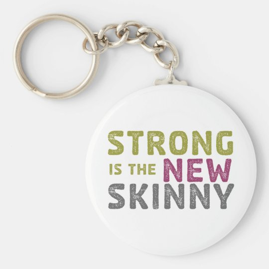 Stronge is the New Skinny - Sketch Keychain