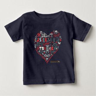 Stronger heart message shirt