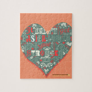 Stronger message jigsaw puzzle