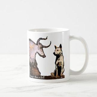 Stronger than a Bull Left Handed Coffee Mugs