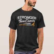 Stronger Than Cancer/ Appendix Cancer Awareness T-Shirt