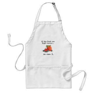 Stronger Than Cancer: berries Adult Apron