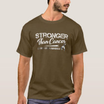 Stronger Than Cancer/ Carcinoid Cancer Awareness T-Shirt