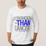 Stronger Than Cancer - Colon Cancer T-shirt