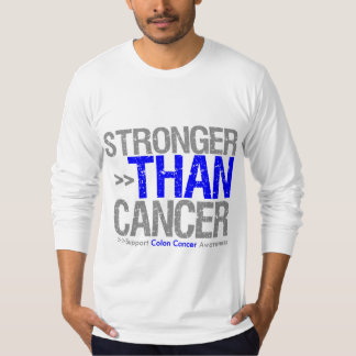 Stronger Than Cancer - Colon Cancer T-Shirt