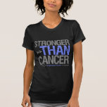 Stronger Than Cancer - Esophageal Cancer Tshirt