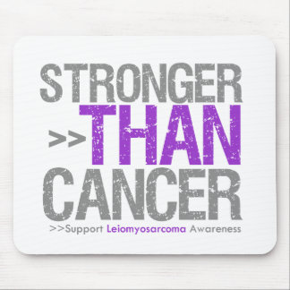 Stronger Than Cancer - Leiomyosarcoma Mouse Pad