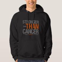 Stronger Than Cancer - Leukemia Hoodie