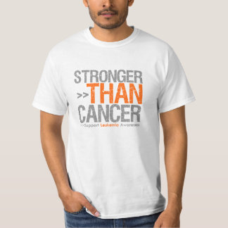 Stronger Than Cancer - Leukemia T Shirt