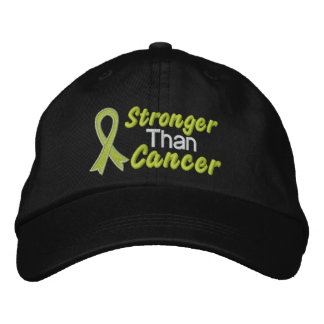 Stronger Than Cancer - Lymphoma Cap