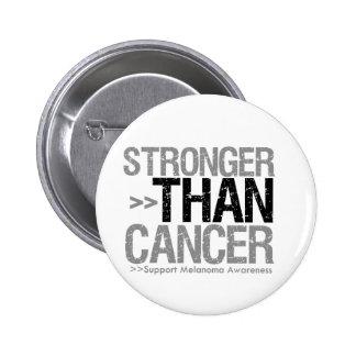 Stronger Than Cancer - Melanoma Button