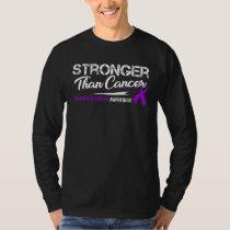 Stronger Than Cancer/ Pancreatic Cancer Awareness T-Shirt