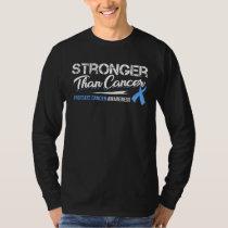 Stronger Than Cancer/ Prostate Cancer Awareness T-Shirt