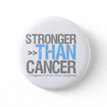 Stronger Than Cancer - Prostate Cancer Button