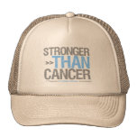 Stronger Than Cancer - Prostate Cancer Trucker Hat