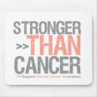 Stronger Than Cancer - Uterine Cancer Mouse Pad