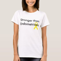 Stronger than Endometriosis T-Shirt