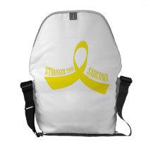 Stronger Than Sarcoma Awareness Courier Bag