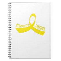 Stronger Than Sarcoma Awareness Notebook