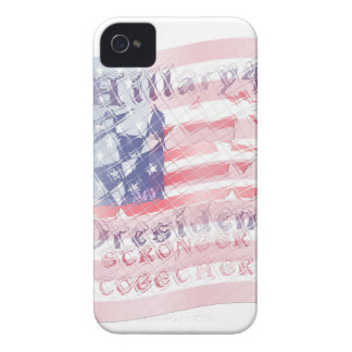 Stronger together USA Hillary 4 President American Case-Mate iPhone 4 Case