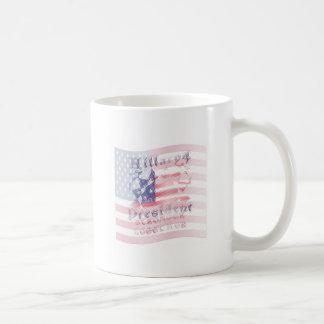 Stronger together USA Hillary 4 President American Coffee Mug