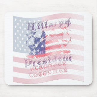 Stronger together USA Hillary 4 President American Mouse Pad