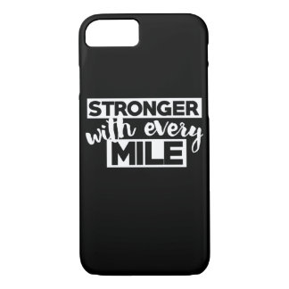 Stronger with every mile iPhone 8/7 case