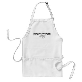 Stronger Woman Aprons