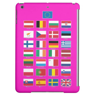 StrongerIn (Remain) iPad; EU 28 nations flags iPad Air Covers