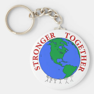 strongerTogether Keychain